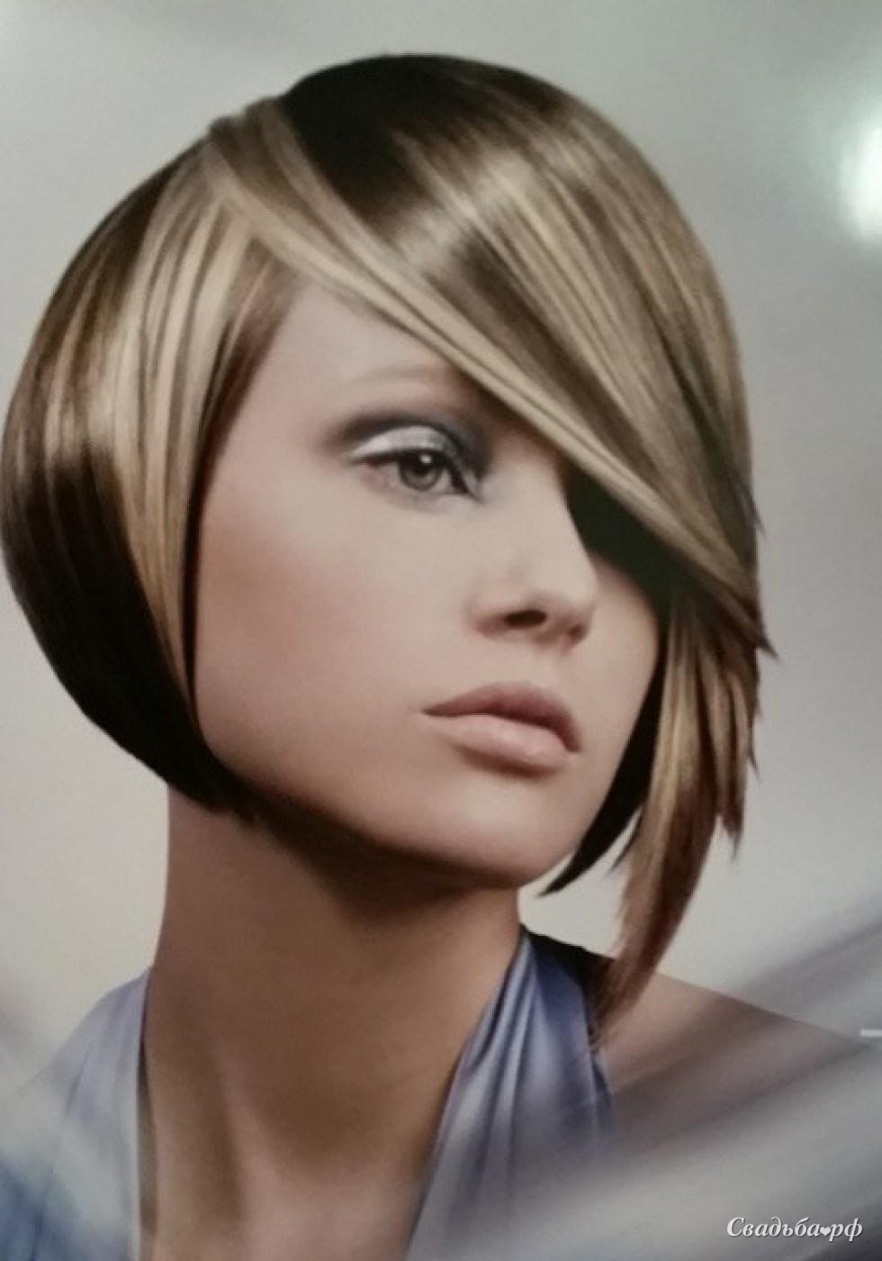 Прически для волос средней длины с мелированием фото